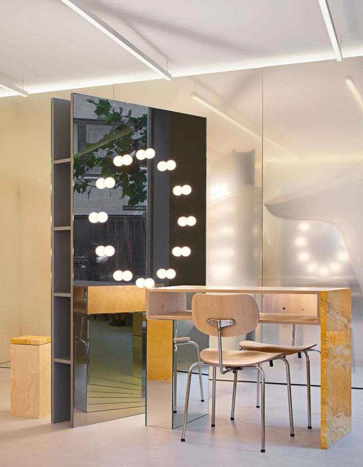 studio david thulstrup: blow hair salon in copenhagen - designboom | architecture & design magazine