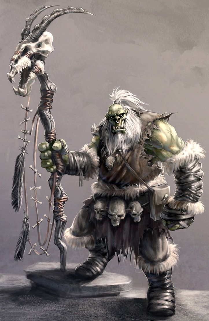 D Amp D Orc Shaman Google Search D Amp D Characters Orcs And
