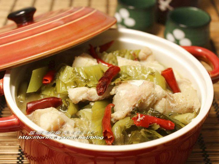 又麻又辣湯頭又帶點酸味的道地川式料理~酸菜魚,是從一位四川辣妹朋友那學來的,不但好做又下飯,適合愛吃麻辣口味的你