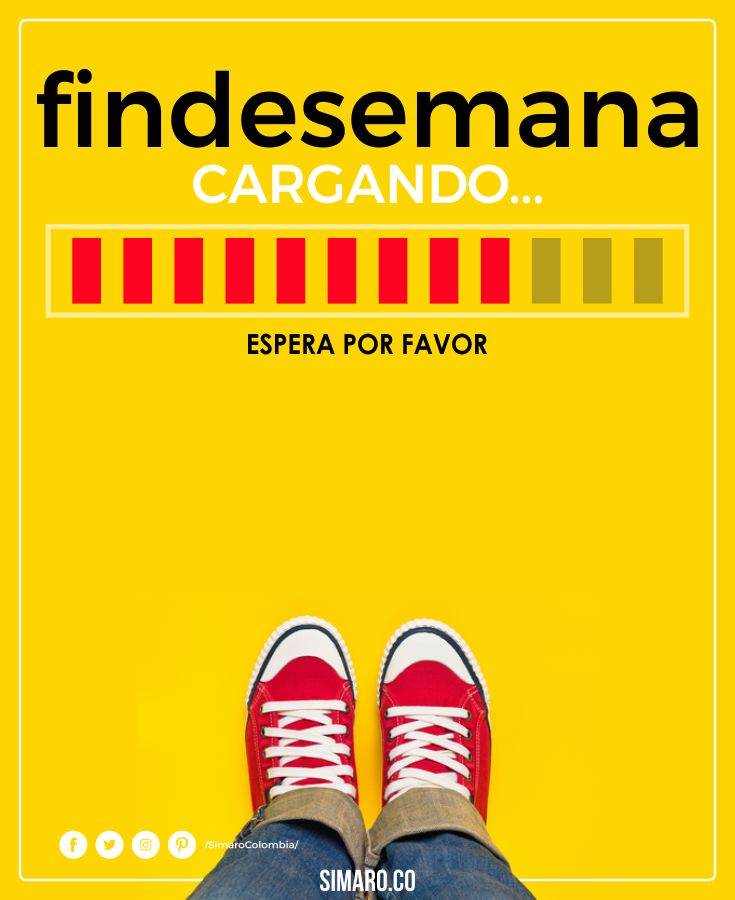 Ya llega el Fin de Semana. @SimaroColombia #SimaroColombia #SimaroCo #Friday #Viernes #FinDeSemana #Weekend #LoEncontramosPorTi #WeFindItForYou #SimaroCo ️ #SimaroMx ️ #SimaroBr ️  #Promo #Novedades #Compras #Regalos #Ofertas #Sale #Promociones #Virtual #ComercioElectronico #Envios #Delivery #CompraOnline