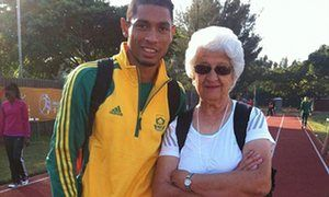 Ans Botha: 74-year-old who coached Wayde van Niekerk to 400m gold
