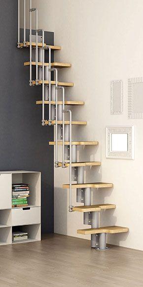 M s de 25 ideas incre bles sobre escaleras para segundo for Escaleras interiores de casas pequenas