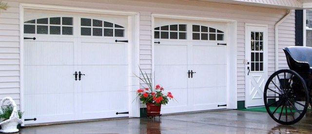 25 best ideas about chi garage doors on pinterest for Carriage style