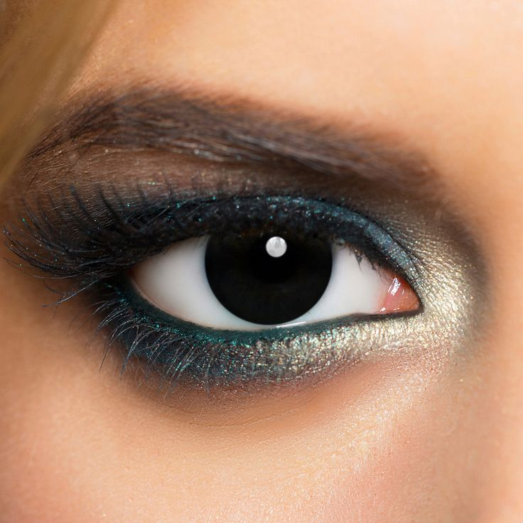 MesmerEyez 1 Day Blind Contact Lenses (Black)