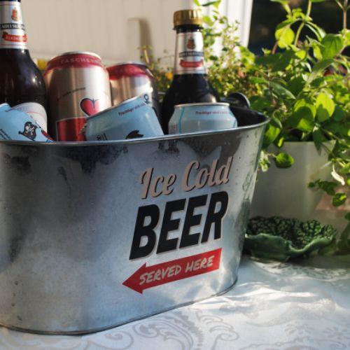 Retro Metalleimer zum Bier kühlen - Besondere Geschenke ...