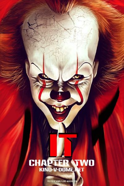оно 2 фильм онлайн Poster в 2019 г злые клоуны