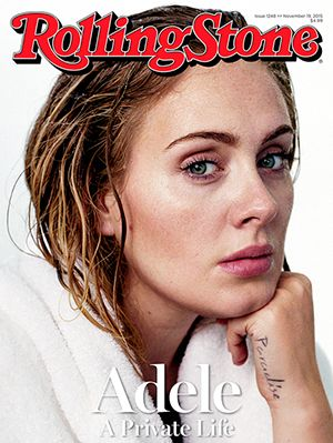 Adele Goes Makeup-Free for *Rolling Stone*, Looks Stunning