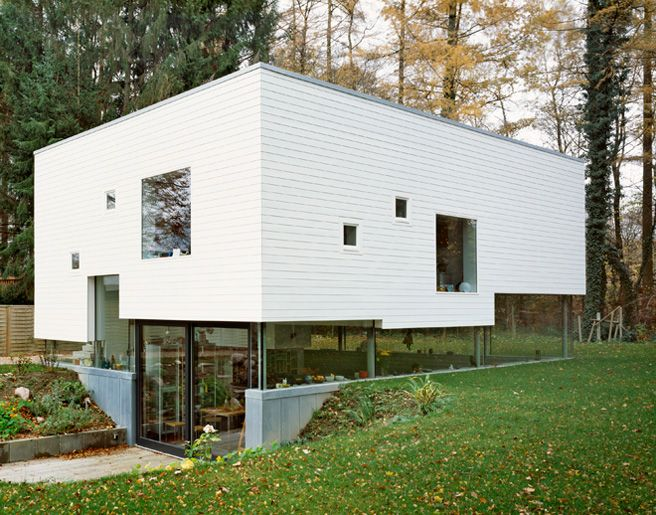 A cubic house in Hamburg.