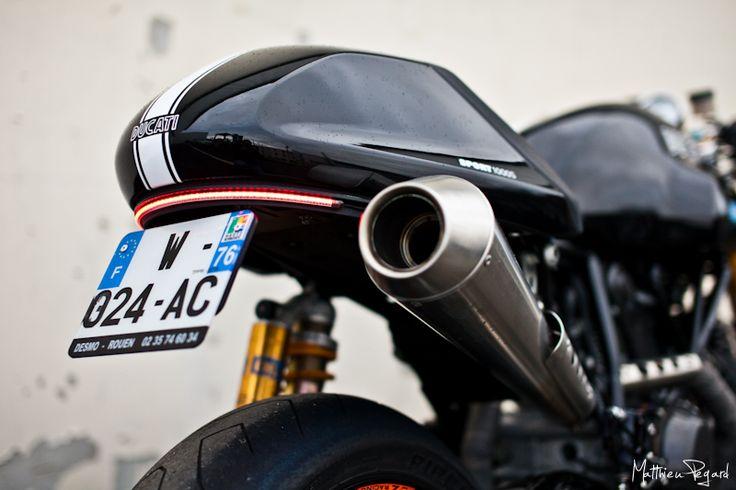 Ducati 1000 Sport Classic Cafe Racer - Matthieu PEGARD Photographe