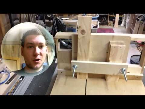 Shop Update Box Joint Jig - YouTube #WOODWORKING #boxjoints #shopmade