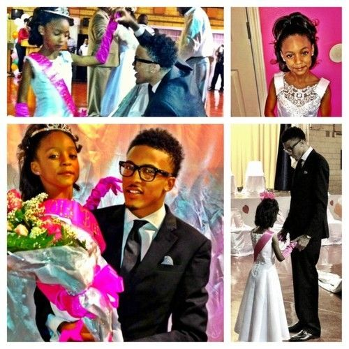 """August & His Niece. So Beautiful. """"I Am My Brothers Keeper"""""""