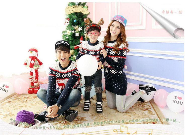 top kwaliteit familie kerst rendier kerst trui truien voor ouder en kind bijpassende kerst truien voor familie in van harte welkom om onze winkel Pls rekening mee: dit is voor de gemengde groothandel( 10 stuks: voor mannen/vrouw van Truien op AliExpress.com | Alibaba Groep