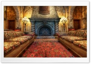The Fireplace in the Tower of Terror