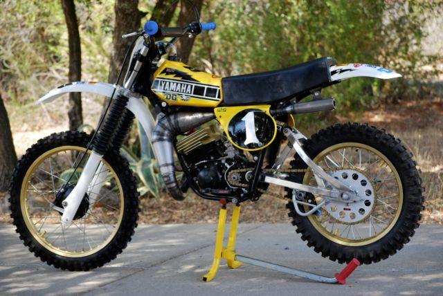 1978 yamaha yz 125 bob hannah vintage yz rm cr kx ktm 80 for Yamaha mx 80 for sale