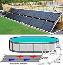 We Explain The Great Benefits Of Solar Pool Heaters Above Ground Pools, Showcase 2 Quality Examples + Reveal Where To Get Best Deals!