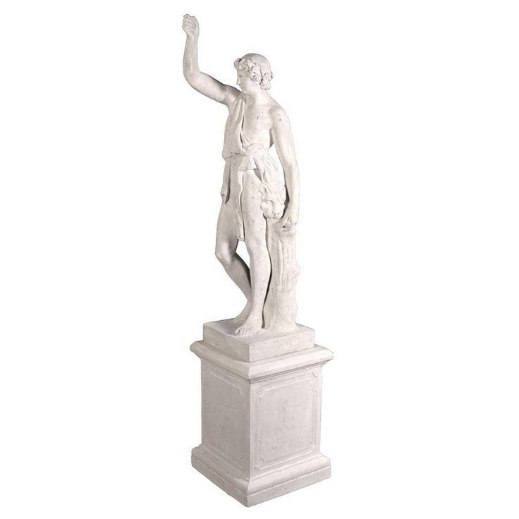 Hercules With Nemean Lion With Plinth Ltl-Nr