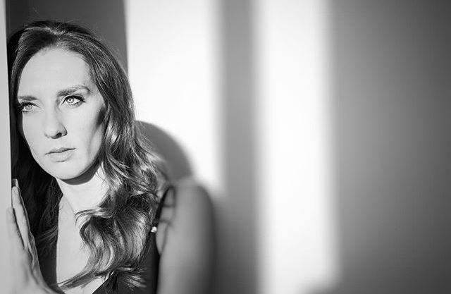 Portrait, creative, photography, black and white, Calgary, Alberta