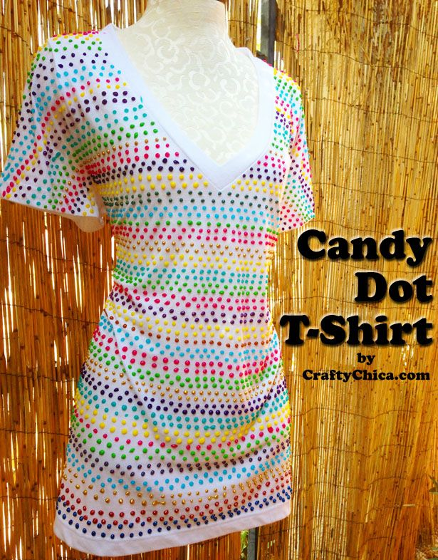 "Candy-Dot-Shirt - actually I think it might fall into the catagory ""Ain't nobody got time for that!"""