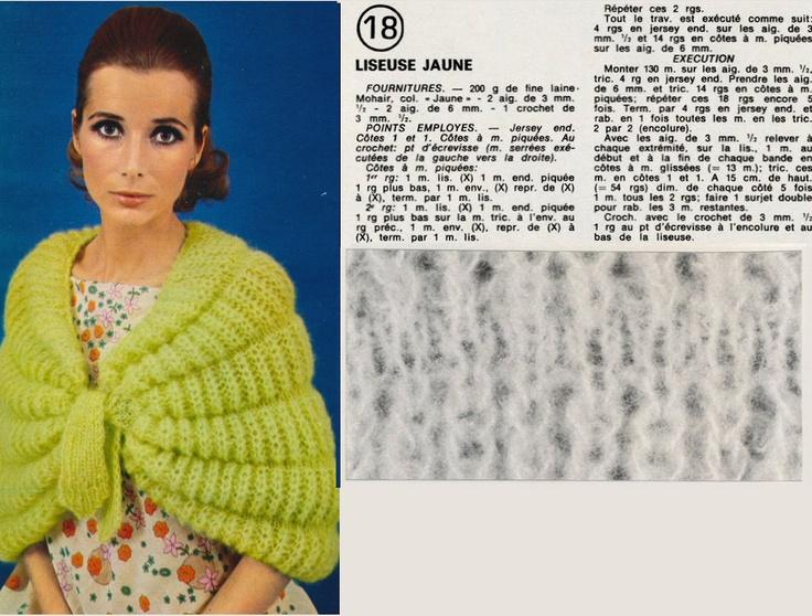 Liseuse de Votre tricot (1969).