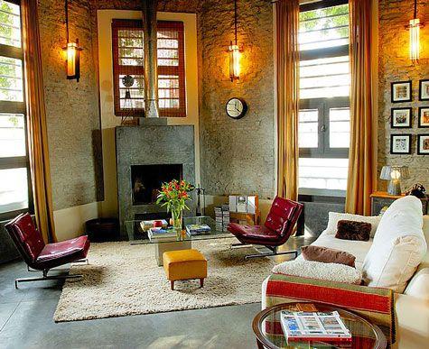 the apartment of Buenos Aires interior designer Emma Balch, via Design  Sponge