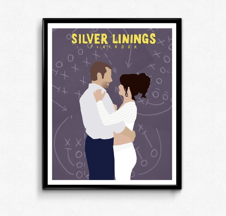 Silver Linings Playbook • Movie Print