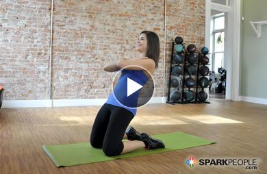 An abs workout without crunches? Sign me up! 10-Minute Crunchless Core Workout