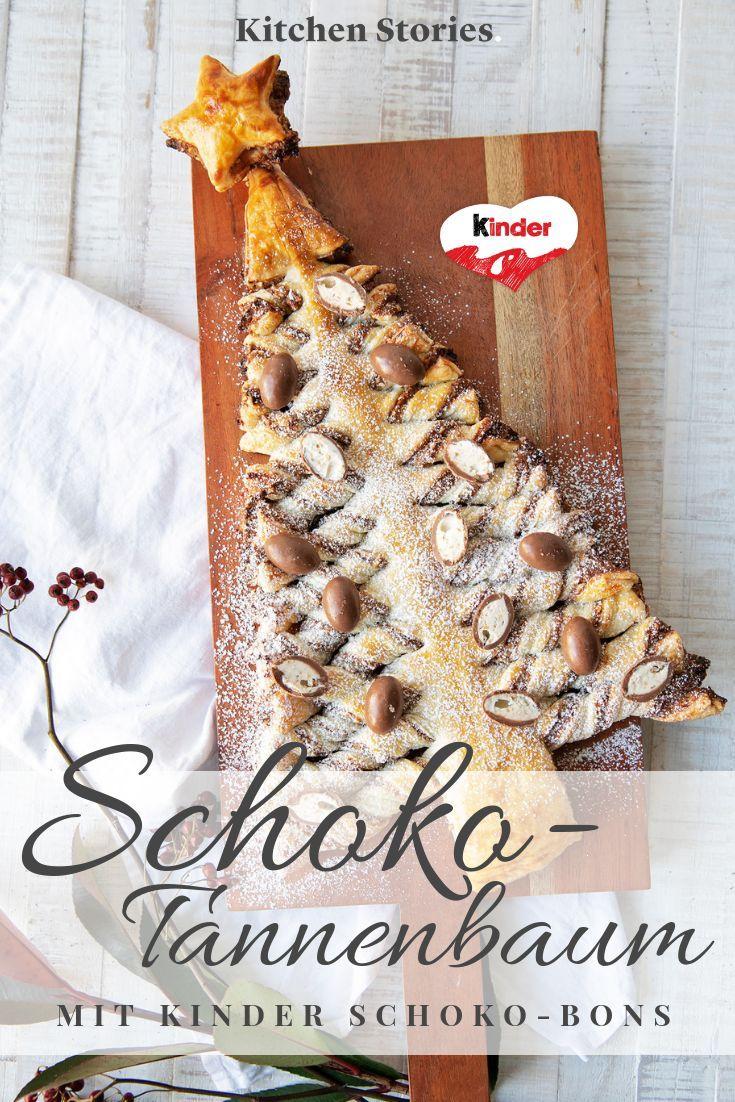 Schoko Tannenbaum Von Kinder Rezept Rezepte Kuchen Torten