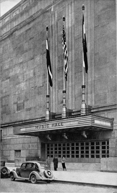 #Kansas #City #History Music Hall in 1931