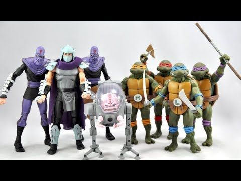 Electrified Porcupine - Toys, Collectibles, Action Figures, Music, WWE, and More!: Teenage Mutant Ninja Turtles (TMNT) SDCC 2017 Excl...