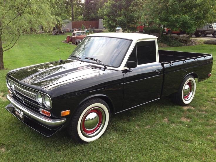 Datsun pickup Ratrod | Cars and bikes | Nissan trucks ...