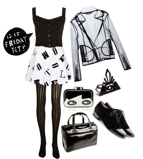 """""""A is for Anxious"""" by noirsilhouette on Polyvore"""