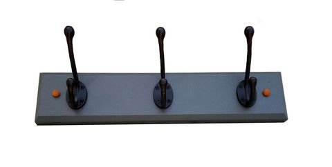 Coat Hook Rail in Farrow & Ball Paint