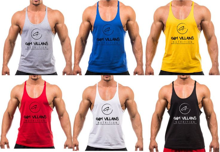 Mens Stringer Tank