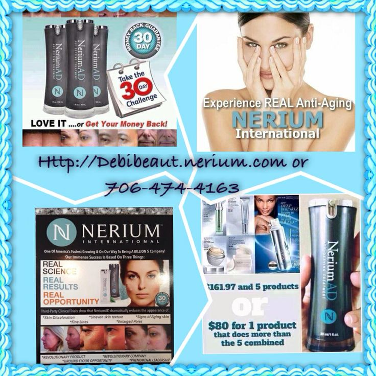 Great product with great results proven Nerium international  http://Debibeauty.nerium.com