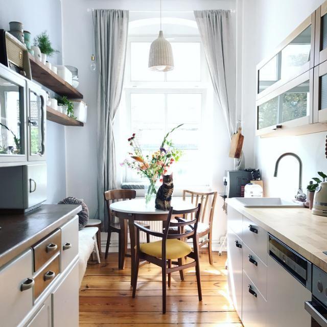 Kleine feine Wohnküche. #couchliebt #Küche