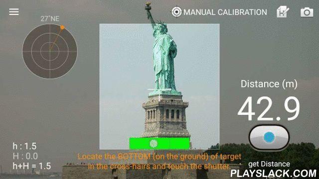 Smart Measure  Android App - playslack.com ,  Smart Measure is het tweede deel van de Smart Tools collectie (afstand, hoogte).De afstandsmeter meet de afstand en hoogte van een voorwerp met uw telefoon door middel van trigonometrie.Gebruik is eenvoudig: ga staan en druk de ontspanknop. Het belangrijke punt is het richten van de camera op de grond, niet het voorwerp. B.v. om de afstand te meten van iemand, richt op zijn schoenen.Als het onnauwkeurig is, lees de instructies in deze app of…