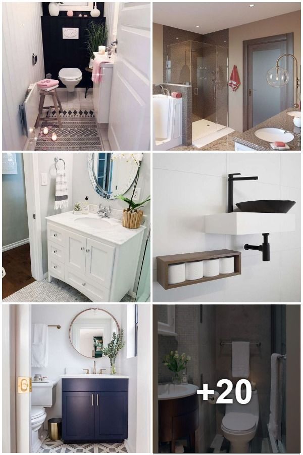 Smarte Losungen Fur Kleine Badezimmer Kleine Badezimmer Badezimmer Zimmer