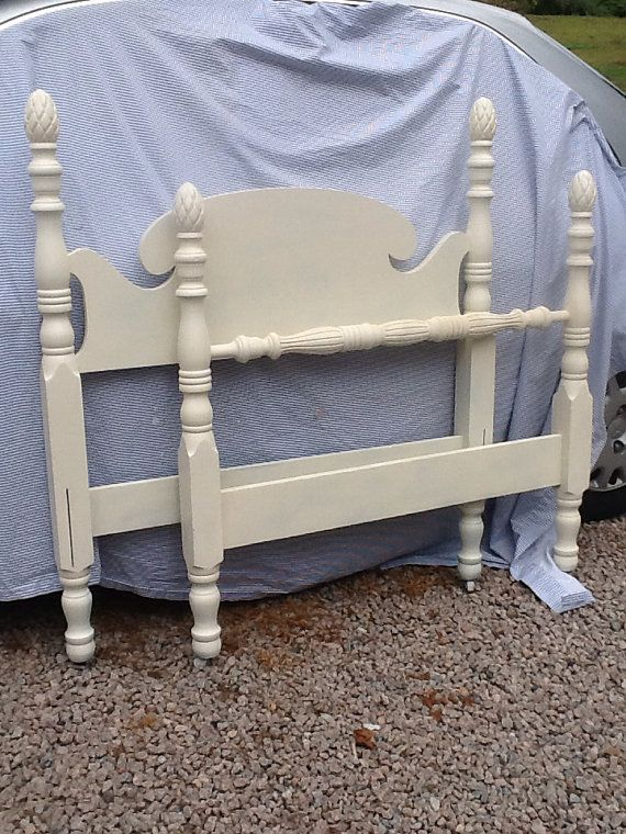 Antique Pineapple Twin Bed