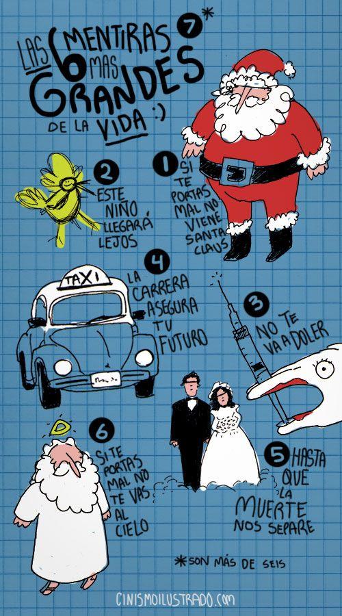 Las 6 mentiras más grandes de la vida