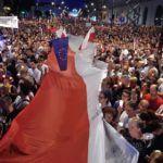 Protesters demand Polish President veto law that puts Supreme Court under government control