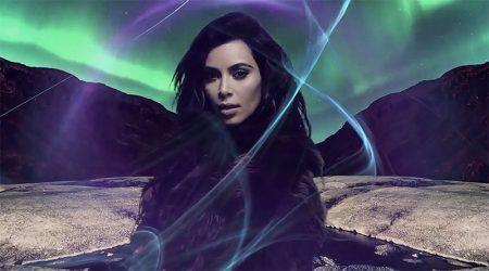 Kim Kardashian Smolders For LOVE's Annual Advent Calendar