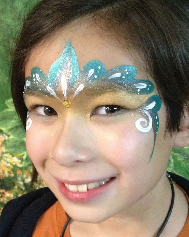 Best 25 Peacock face painting ideas on Pinterest
