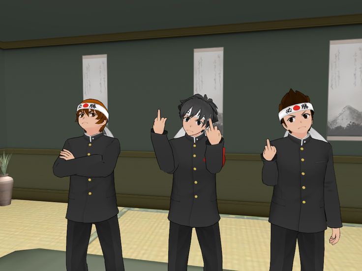 POSE MODE: THE MARTIAL ART BOYS ARE DONE PLAYING NICE
