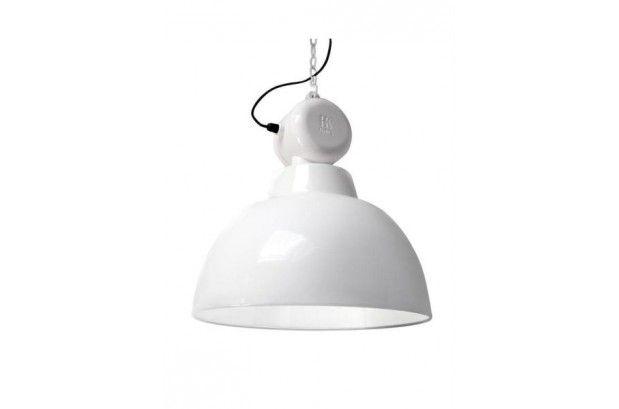 Lámpara Vintage Factory Blanca