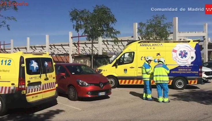 Fallece un obrero tras caerle una plancha de hormigón de cerca de 5.500 kilos