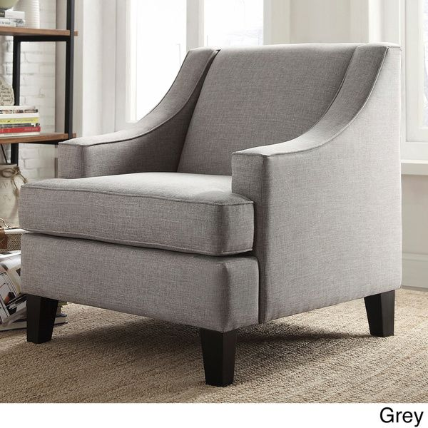 INSPIRE Q Winslow Concave Arm Modern Accent Chair. 17 best ideas about Modern Accent Chairs on Pinterest   Armchairs