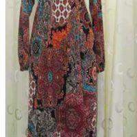 Model baju gamis batik untuk pesta