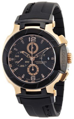 Tissot Men's T0484272705701 T-Race Automatic Chronograph Watch Tissot http://www.amazon.ca/dp/B005FEQ3MA/ref=cm_sw_r_pi_dp_09elub0QDZKJK