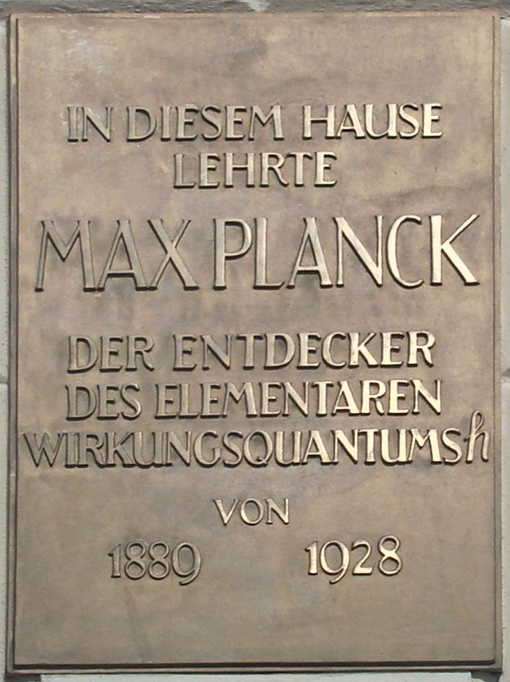 Planck constant - Simple English Wikipedia, the free encyclopedia