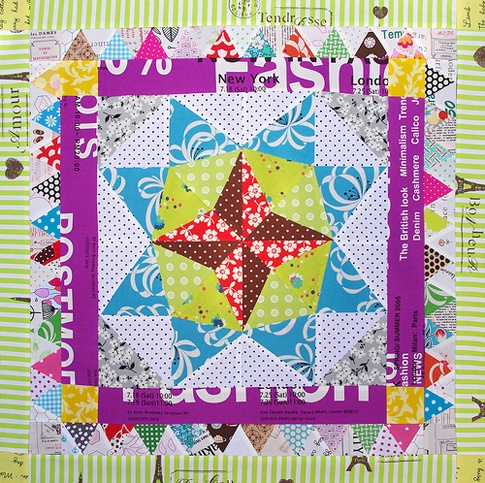 Red Pepper Quilts: Marcelle Medallion Quilt - part 1